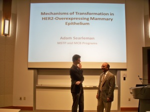 Adam Searleman PhD defense